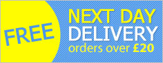 Free Next Day Delivery on all orders over �20