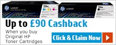Up to �75 Cashback - When you buy Original HP Toner Cartridges