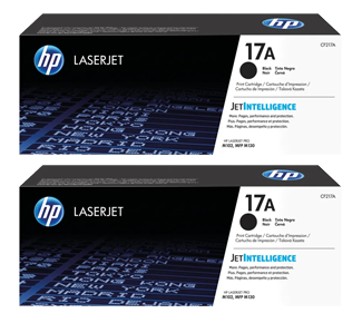 HP 17A Black Laserjet Toner Cartridge