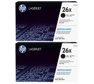 HP 26X High Yield Black Laserjet Toner Cartridge