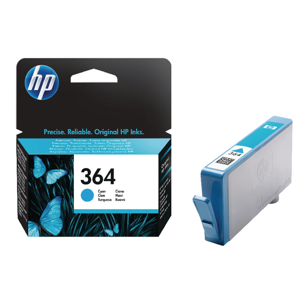 HP 364 Cyan Ink Cartridge | CB318EE