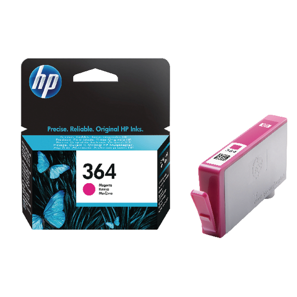 HP 364 Magenta Ink Cartridge | CB319EE