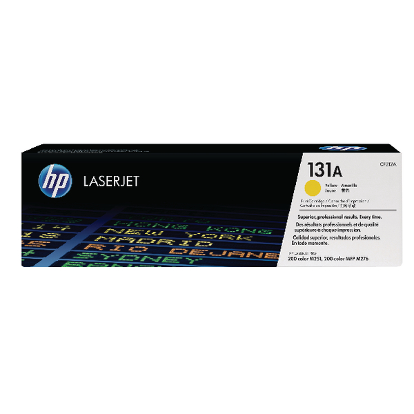 HP 131A Yellow Laserjet Toner Cartridge | CF212A