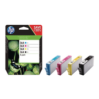 HP 364 Combo 4-Pack