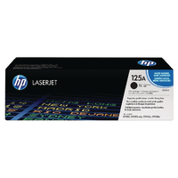 HP 125A Black Toner Cartridge