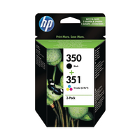 HP 350 Black/351 Tri-colour 2-pack Ink Cartridges