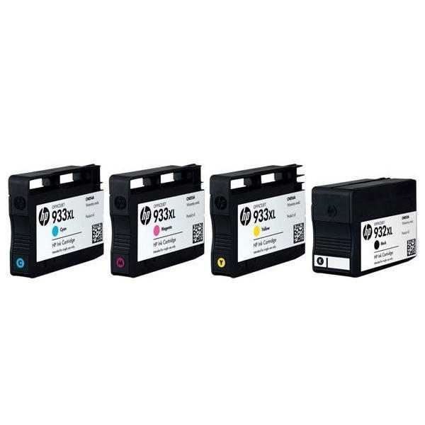hp 932xl and 933xl black and colour combo ink cartridge pack c2p42ae. Black Bedroom Furniture Sets. Home Design Ideas