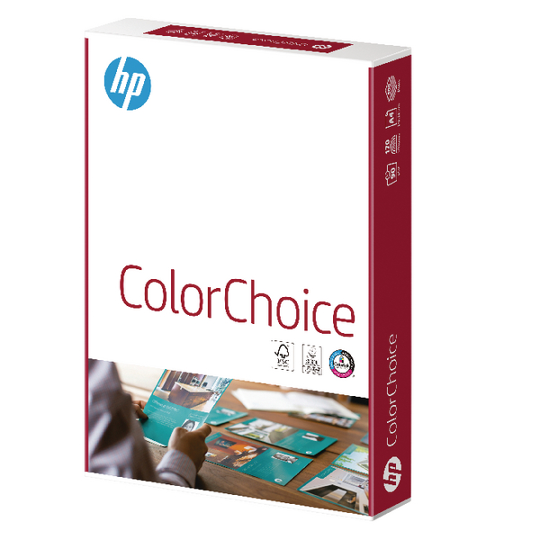 HP A4 90gsm Colour Laser Paper Matt White 210 x 297 mm 500 Sheets HCL0321