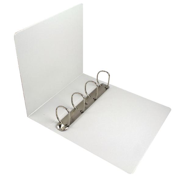 Esselte Presentation 4D Ring Binder 60mm A4 White 49706