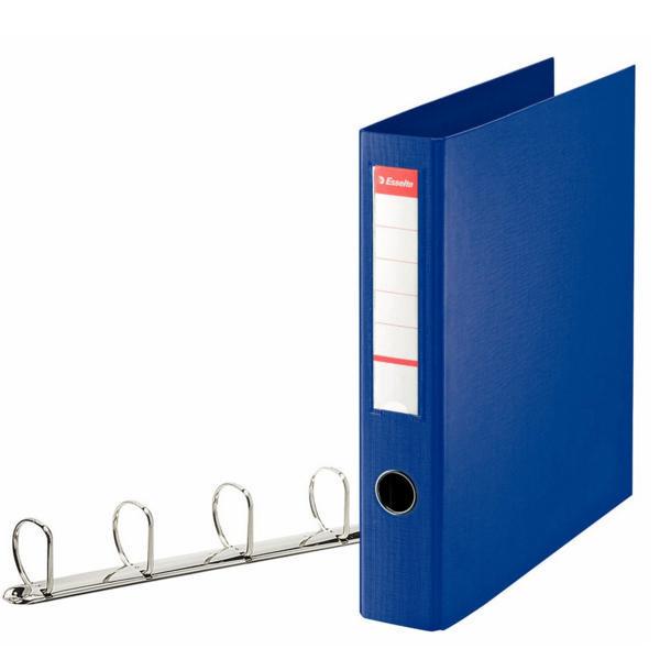 Esselte 4D Ring Binder A4 40mm Blue 82405