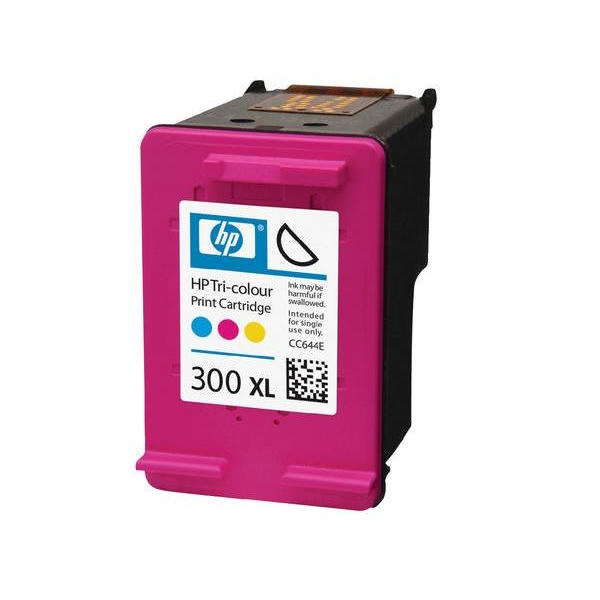 HP 300XL High Capacity Tri-Colour Ink Cartridge | CC644EE