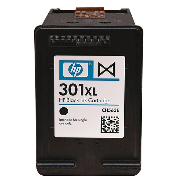 hp 301xl high capacity black ink cartridge ch563ee. Black Bedroom Furniture Sets. Home Design Ideas