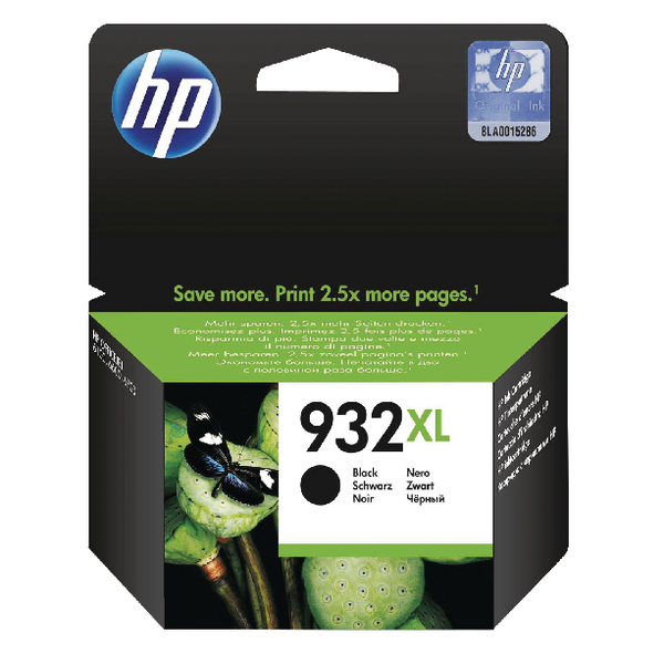HP 932XL High Capacity Black Ink Cartridge | CN053AE