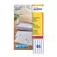 Avery Mini Labels White 65Labels/Sheet 38.1x21.2mm Laser (Box 25 Sheets) | L7651-25
